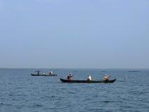 Kerala Stojące wody, India Zdjęcia Stock