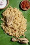 Kerala Style Biryani from India Royalty Free Stock Photos