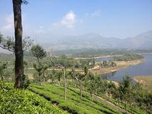 KERALA TOURISM WAGAMON MUNNAR IDUKKI royalty free stock photography