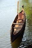 Kerala traditional canoe. Fine example of a traditional backwater canoe ... Kerala, India Royalty Free Stock Photography