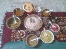Kerala Tradycyjni produkty spożywczy obraz stock