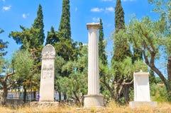 Kerameikos, Athens, Greece Stock Photos