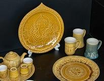 Keramik av Thailand arkivbilder
