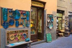 Keramik för traditionell konst, orvieto, terni, umbria Italien, Europa arkivbild