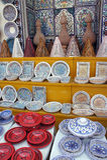 Keramik im Markt Lizenzfreies Stockfoto
