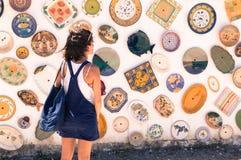 Keramik in Portugal stockbilder