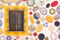 Keramik in Portugal lizenzfreie stockfotografie