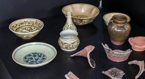 Keramik von Thailand stockbild