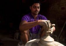 Keramiker arbete Royaltyfria Foton