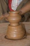Keramiker- och krukmakeriprodukt Arkivbilder