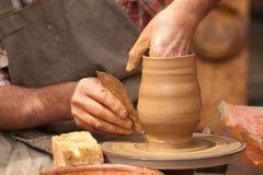 Keramiker och lera fotografering för bildbyråer