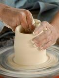 Keramikerhandel Royaltyfri Foto