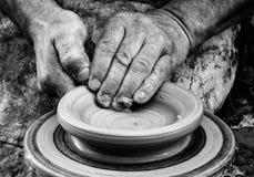 Keramikern Fotografering för Bildbyråer