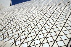 Keramikfliesen auf Sydney Opera House Lizenzfreies Stockbild