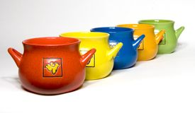 keramikkökkrukar Royaltyfri Foto