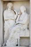 Keramikos 集市古老雅典 坟茔街道  希腊 免版税库存照片