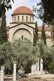 Keramikos agora antyczny Athens Ulica grobowowie Grecja Zdjęcie Stock