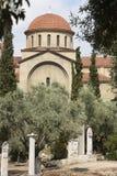Keramikos Oud Agora in Athene Straat van graven Griekenland Stock Foto