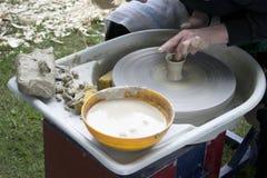 Keramikproduktion Arkivbilder