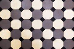 Keramikziegel Mosaik, Keramikfliesen mit klassischem Muster Beschaffenheit lizenzfreies stockbild