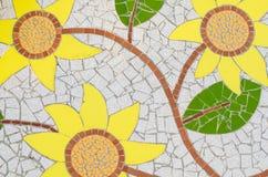 Keramikziegelmuster und -farben Lizenzfreie Stockfotografie