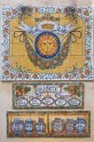 Keramische Abbildungen der Kunst Stockfoto