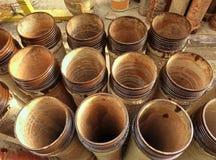 Keramische Abwasserleitungen Lizenzfreie Stockfotos