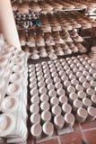 Keramische Cup vietnam Lizenzfreie Stockbilder
