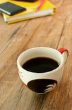 Keramische Kaffeetasse Lizenzfreies Stockfoto