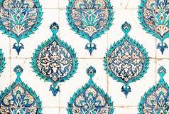 Keramische Platten vom Topkapi-Palast in Istanbul Lizenzfreies Stockbild