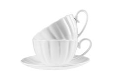 Keramische Schale für Tee Stockfotografie