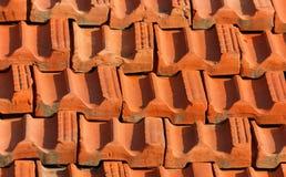 Keramische Schindelbeschaffenheit/-hintergrund Lizenzfreies Stockfoto