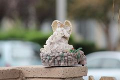 Keramische Statue stockbilder