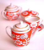 Keramische Teekanne Stockbild