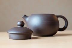 Keramische Teekanne Lizenzfreie Stockbilder