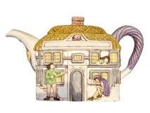 Keramische Teekanne Lizenzfreies Stockbild
