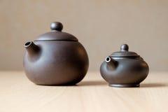 Keramische Teekannen Lizenzfreie Stockbilder