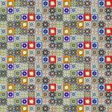 Keramische tegelspatronen stock illustratie