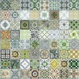 Keramische tegelspatronen van Portugal stock illustratie