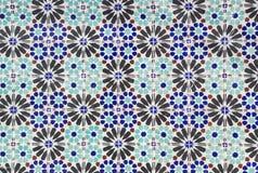Keramische tegelspatroon royalty-vrije stock afbeelding