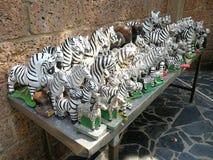 Keramische Tierpuppen für die Anbetung lizenzfreie stockbilder