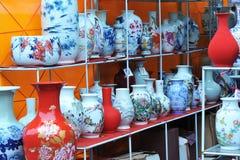Keramische Vasen Lizenzfreies Stockbild