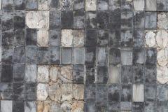 Keramische Ziegelsteinfliesenwand, nahtlose Backsteinmauer Stockbilder