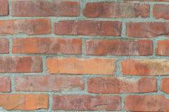 Keramische Ziegelsteinfliesenwand, nahtlose Backsteinmauer Lizenzfreies Stockbild