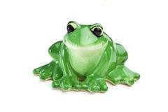 Keramischer Frosch Stockfoto