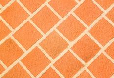 Keramischer mit Ziegeln gedeckter Fußboden Lizenzfreies Stockbild