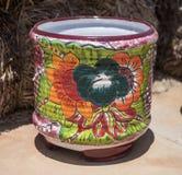 Keramischer Topf, Tubac Arizona Stockbilder