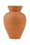 Keramischer Vase des alten Wassers Lizenzfreies Stockfoto