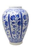 Keramischer Vase Vazo der Türkei Kutahya çini Stockbilder