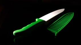 Keramisches Messer Stockfoto
